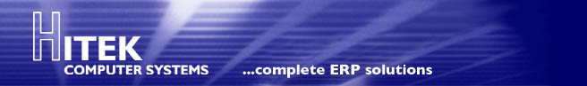 Hitek Computer Systems ... complete ERP solutions